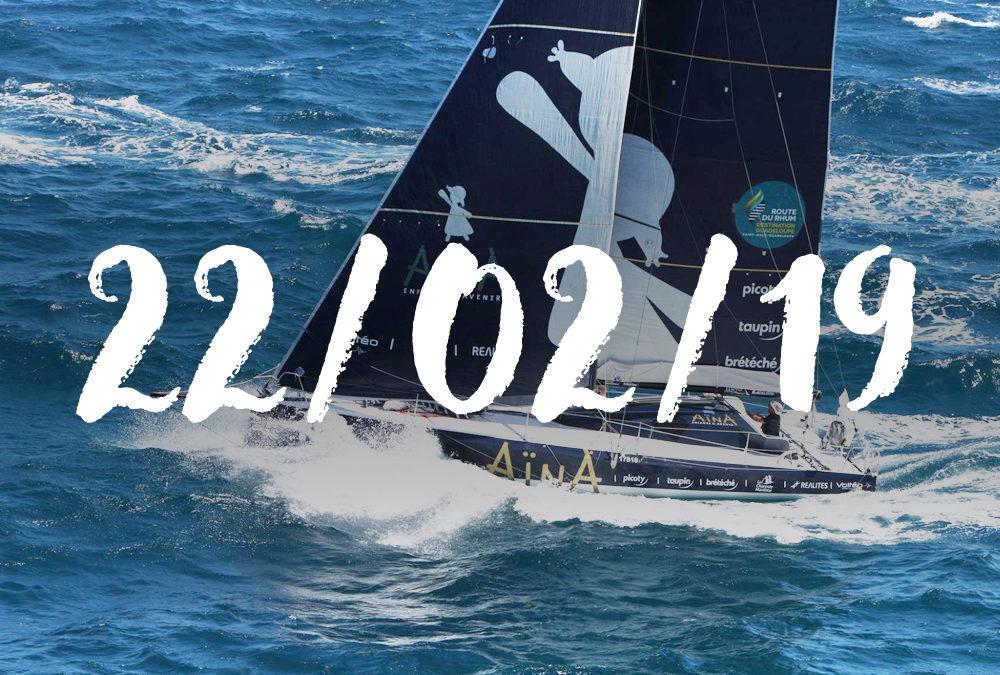 Aymeric Chappellier : « Le bateau a bien été éprouvé et c'était le but avant la transat »